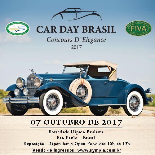 07-10-2017 - SAO PAULO - CAR DAY BRASIL