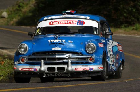 Dodge of Mauricio Pimentel, during day 4 of the 2010 Carrera Panamericana.d