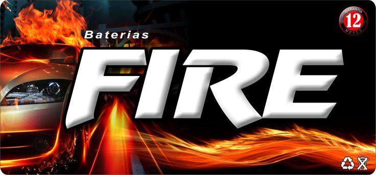 baterias fire