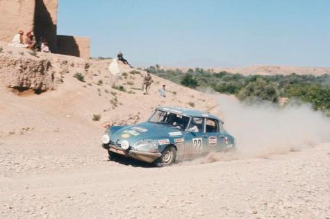 Citroen DS bei der Rallye Paris Kabul, 1970